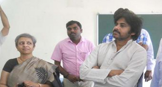 Pawan kalyan To GMR CARE Hospital